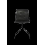 BENT HANSEN PRIMUM CHAIR - stol / sort drejestel uden armlæn