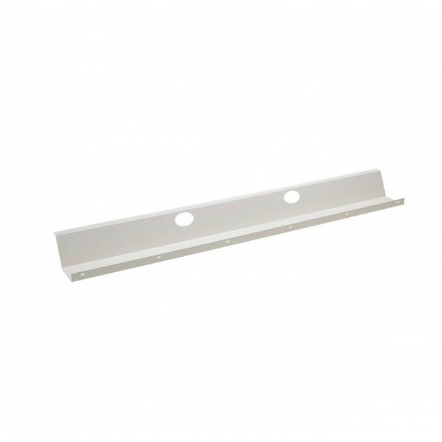 Kabelbakke til Hæve sænkebord 115 cm. Grå, Hvid eller Sort lakeret.