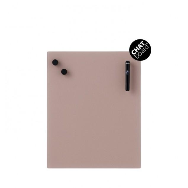 Chat Board Classic Magnetisk Glastavle - Blush 32