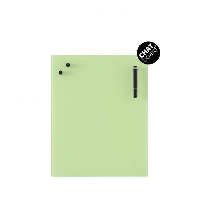 Chat Board Classic Magnetisk Glastavle - Lime Green 4