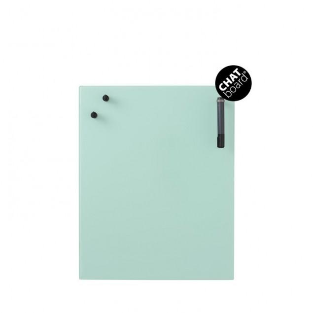 Chat Board Classic Magnetisk Glastavle - Mint 23