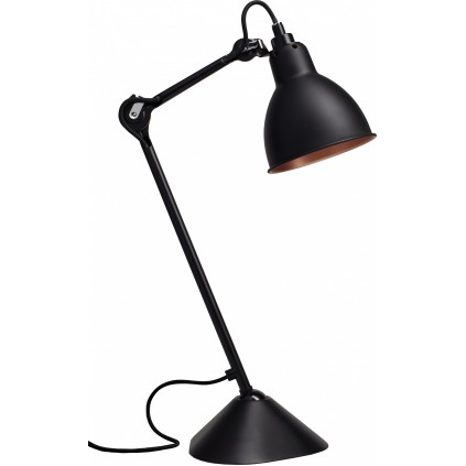 Lampe Gras NO 205 bordlampe sort kobber