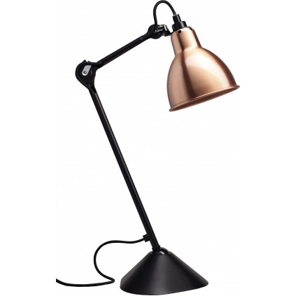 Lampe Gras NO205 bordlampe, sort-kobber
