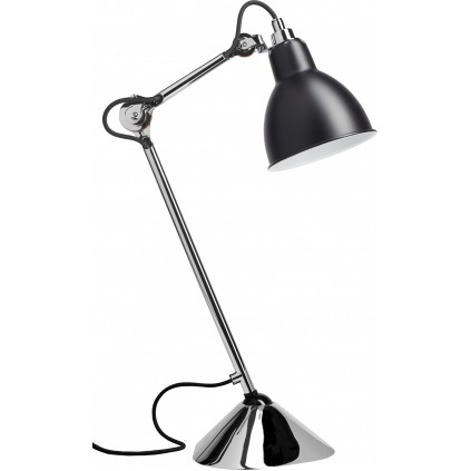 Lampe Gras NO205 bordlampe, krom-sort