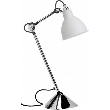 Lampe Gras NO205 bordlampe, krom-glas