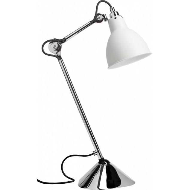 Lampe Gras NO205 bordlampe, krom-hvid