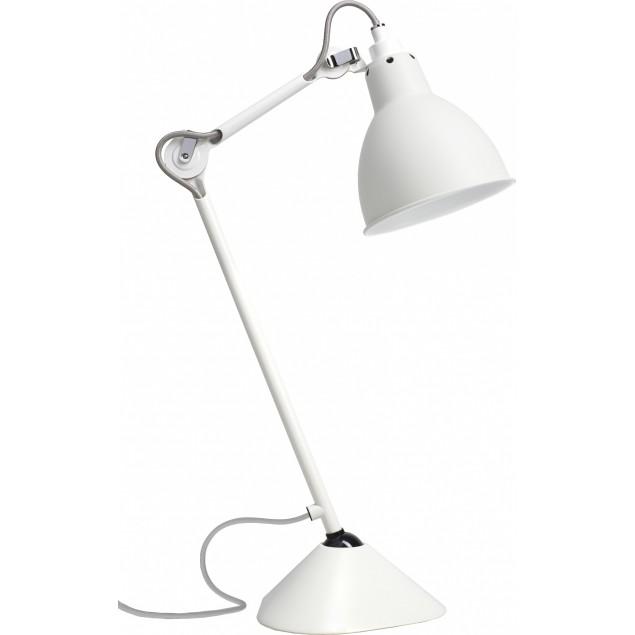 Lampe Gras NO205 bordlampe, hvid-hvid