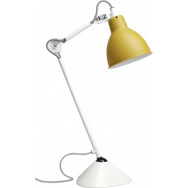 Lampe Gras NO205 bordlampe, hvid-gul
