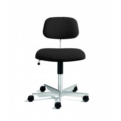 KEVI 2534u kontorstol fuldpolstret sæde og ryg med FAME stof