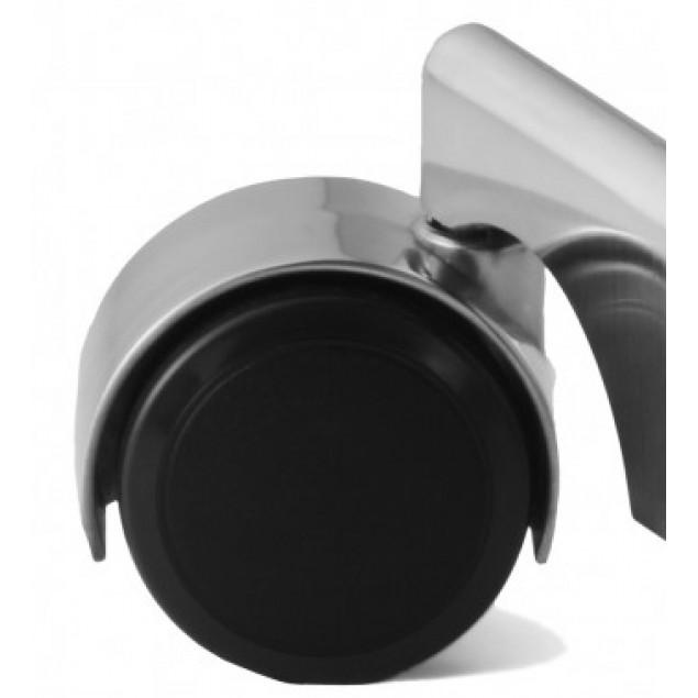 KEVI hjul med aluminiumskappe bløde baner 5 stk.
