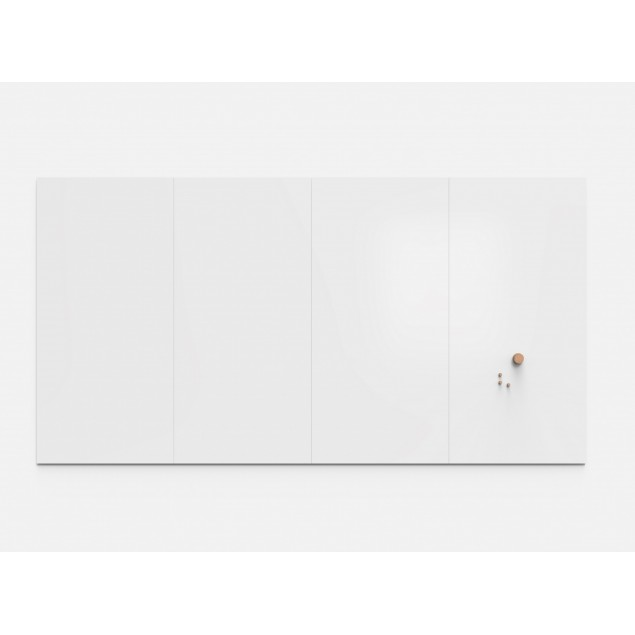Air Spaces whiteboard 2 tavler 2380 x 2490 mm