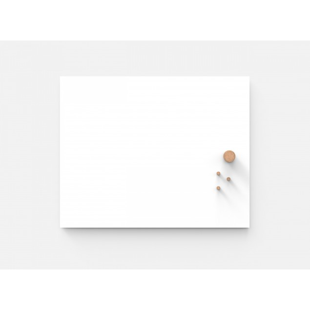 Whiteboard Air 1990 x 1190 mm. Minimalistisk design uden ramme.