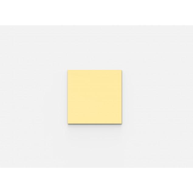 Mood Glastavle magnetisk 500 x 500 mm. Vælg mellem 24 farver.