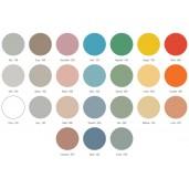 Glastavle Mood Flow, magnetisk 750 x 750 mm. vælg mellem 24 flotte farver