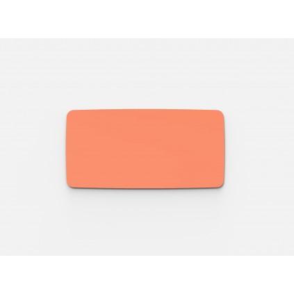 Glastavle Mood Flow, magnetisk 1000 x 2000 mm. vælg mellem 24 flotte farver
