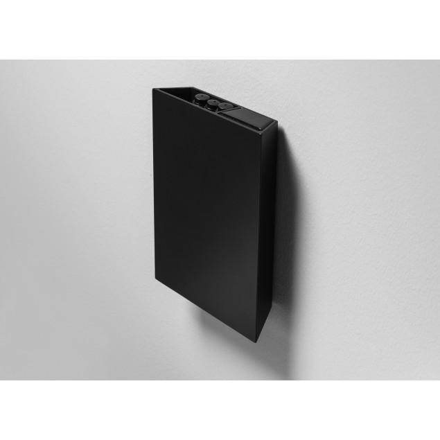 Air Pocket sort aluminium, inklusiv visker og 3 stk sorte penne