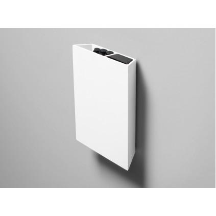 Air Pocket hvid aluminium, inklusiv visker og 3 stk sorte penne