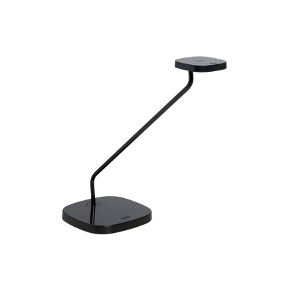 LUXO Trace LED bordlampe med bordfod. Sort.