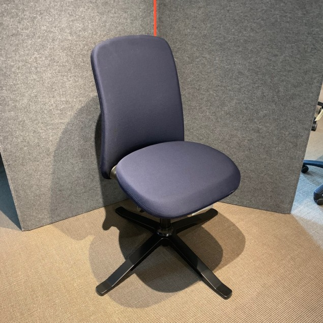 Håg Sofi 7202 gæstestol blå, Udstillingsmodel kun afhentning