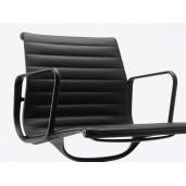 Vitra Aluminium EA 104 konferencestol med læder - flere farver