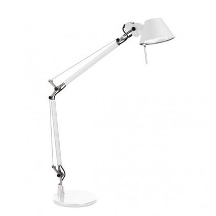 ARTEMIDE TOLOMEO - Bordlampe / hvid med bordfod