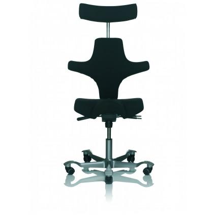 HÅG Capisco 8107 kontorstol med hovedstøtte Fame betræk Vælg farve