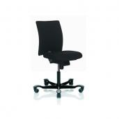 HÅG 4100 H04 kontorstol med lidt kortere sæde, til de korte ben. Fame betræk, vælg farve. Denne model udgår ultimo 2019, fra fabrikken.
