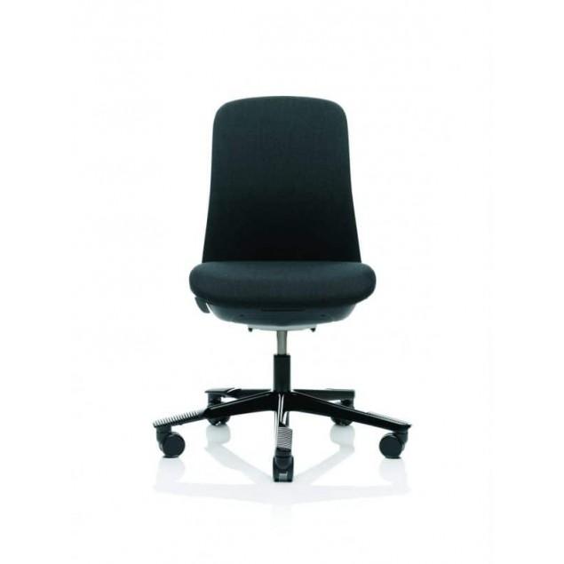 HÅG SoFi 7200 kontorstol med sort Fame betræk.