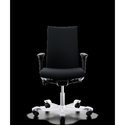 HÅG Creed 6006 kontorstol med ekstra høj ryg. Med sort Select betræk.