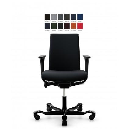HÅG Creed 6003 kontorstol, select betræk og medium delpolstret ryg.