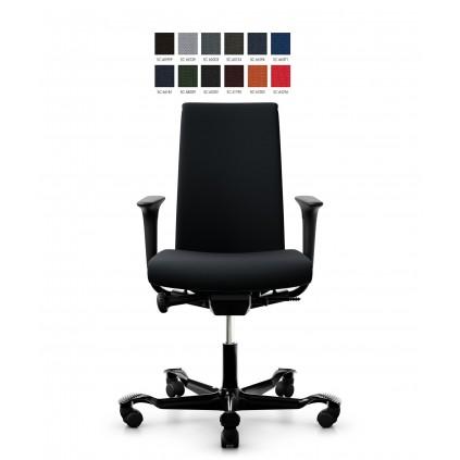 HÅG Creed 6005 kontorstol, select betræk og medium delpolstret ryg.