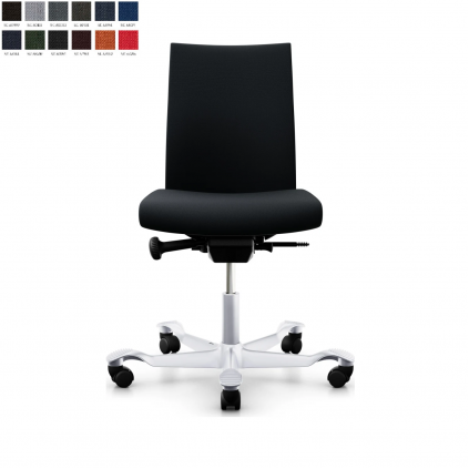 HÅG Creed 6002 kontorstol, select betræk og standard fuldpolstret ryg.