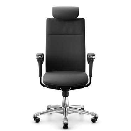 HÅG Tribute 9031, chefstol med læder og nakkestøtte. Den absolutte topmodel fra HÅG.
