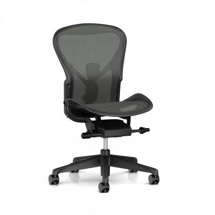 Herman Miller Aeron kontorstol, uden armlæn med posture fit.