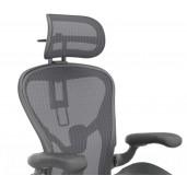 Herman Miller Aeron kontorstol med vinyl armlæn og fixed PostureFit - Model B