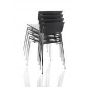 Pure katinestol. Med siddeflade i blødt PUR, der giver god komfort og dæmper støj.