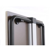 140x70 cm TUBE kantinebord. Med fast stel (STAY) eller som foldebord (Fold)